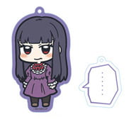 "Ohno Akira (silent ver.) Acrylic key chain with serif charm ""High score girl"""