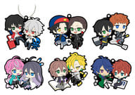 "All 6 types set ""Hypnosis microphone-Division Rap Battle-Rubber mascot Badikore VS Ver."""