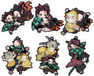 """All 6 types set """"Devil's Blade Rubber Mascot Buddy Collection"""""""