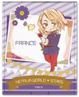 デザイン06(フランス) コンパクトミラー 「ヘタリア World☆Stars」