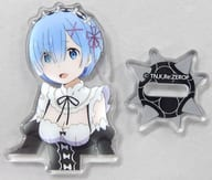 "Rem special acrylic stand ""Re: different world life starting from zero"" monthly comic alive 2019 August issue appendix"