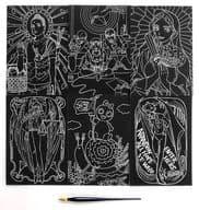 [單品 ] 集合 6 張平等條件的比賽藝術&平等條件的比賽筆「漫畫聖☆哥哥 17 卷限定版」同捆優待