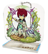 Asbel Land 「 Tales of Graces F Character Actor Chronicle Trading Acrylic Stand Key Holder 」
