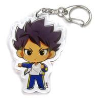 Kosomaru Sasuke 「 INAZUMA ELEVEN Orion no Inkoku ×PRINCESS CAFE Acrylic Key Holder (Mini Character) 」