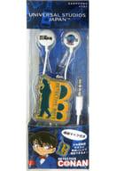 Detective Badge Earphones 「 Detective Conan Limited to 」 Universal Studios