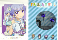 """Aoba Suzukaze model inner ear headphones SE-CL522 """"NEW GAME!"""""""
