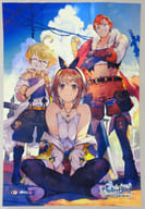 [Single item] Illustrated B2 Cloth Poster Collection 「 PS4/Switch Soft Riser Studio ~ Eternal Darkness Queen and Secret Hideaway ~ Premium Box 」 Included