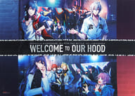 B2 Cloth Poster Collection (Jacket Illustration) 「 Blu-ray/DVD Hypnosis Mic -Division Rap Battle-4th LIVE @ Osaka  」 Purchase benefits
