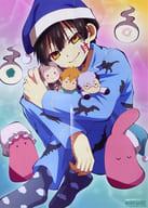 B3 Double-sided Poster (four fold) Hanako-kun / Gathering 「 Toilet-Bound Hanako-kun / Pocket Monsters 」 アニメディア December 2020 issue appendix
