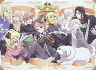 Single-sided Poster (four fold) Collection 「 Royal Teacher Heine 」 Monthly G Fantasy 2021 June issue, binding appendix