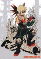 A2 Hanging Art Poster 爆豪 Katsumi 「 Ichiban KUJI MY HERO ACADEMIA Get A Chance! 」 B Award
