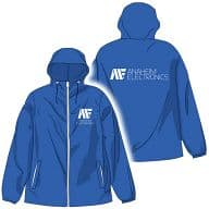 MOBILE SUIT Z GUNDAM Anaheim HoodEd Windbreaker Blue Size S