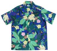 リヨ絵柄 アロハ風デザインシャツ ルルハワアイランド フルカラー Lサイズ 「Fate/Grand Order Fes 2019 カルデアパーク」
