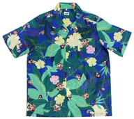 リヨ絵柄 アロハ風デザインシャツ ルルハワアイランド フルカラー XLサイズ 「Fate/Grand Order Fes 2019 カルデアパーク」