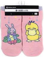 "Kodak & Numera Short Socks Kodak has no energy. Pink 23-25cm ""Pokémon"" Pokemon Center Limited"