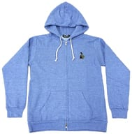 Fuoka Giyu Embroidered Hoodie Light Blue M Size 「 Demon Slayer: Kimetsu no Yaiba 」