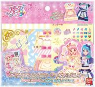 Aikatsu! Friends! Dress Letter w / Card, Sugar Melody & MATERIAL COLOR