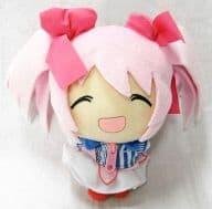"[Mischievous] Kaname Madoka Niko Moko Madoka Plush Doll ""Magical Girl Madoka ☆ Magica"" Lawson Campaign Goods"