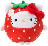 "Hello Kitty Otenori Doll (stuffed toy) Strawberry design series ""Sanrio Characters"""