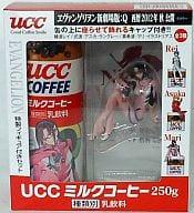 Mari Illustrious Makinami Evangelion Shin Gekijoban : Q UCC 250g Milk Coffee Set with Special Figure