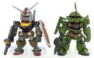 RX-78-2 Gundam & MS-06 Zaku Gundam Converge SP Real Type 「 FW GUNDAM CONVERGE 」 Mobile Suit Gundam Exhibit only