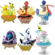 Set of 6 Kinds 「 Pokemon Gemstone Collection 」