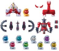 "All 6 types of sets ""Minipla Cosmos Squadron Queen Ranger Quaspara Coalition Series 07 Kojishi VOYAGER & Moraimer's Robo & Mini Cut Tama Set"""