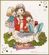8. 「 March comes in like a lion Shikishi ART 」