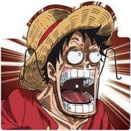 Monkey D. Luffy Big Lip 「 ONE PIECE Spicy D Snack 」