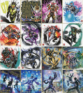 Set of 16 Kinds 「 Kamen Rider Shikishi ART4 」