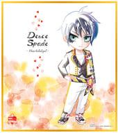3. Deuce Spade 「 Disney: Twisted-Wonderland Shikishi ART1 」
