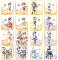 Set of 16 Kinds 「 Disney: Twisted-Wonderland Shikishi ART1 」