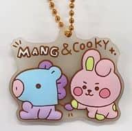 10. MANG & COOKY (BABY Sketch) 「 BT21 Plump Rabmas Gummy 」
