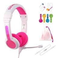 Onanoff Children's Headphone BuddyPhones School + (Pink) [BuddyPhones School + Pink]