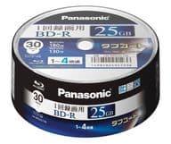 Panasonic recording BD-R Tough coat 25GB 30 sheets pack [LM-BRS25LT30]