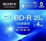 Sony recording BD-R 4x 25GB 5 sheets pack [5BNR1VGPS4]