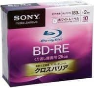 Sony Recording BD-RE 25 gb 10-Pack [10 B.N.E. 1 VCPS2]