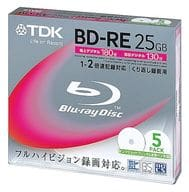TDK's BD-RE 25 gb 5-pack [BEV25PWA5K]