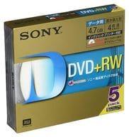 Sony data DVD+RW 4.7GB 5 sheets pack [5DPW47HPS]