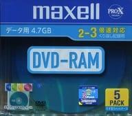 Hitachi Maxell Data DVD-RAM 4.7GB 5 sheets pack [DRM47MIXB.S1P5SA]