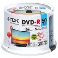 TDK Recordable DVD-R 4.7 gb 50 Pack [DR120DPWC50PU]