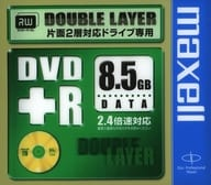 DVD + R DL 8.5B 2.4 x speed support for Hitachi Maxell data [D + R185.1P]