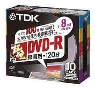 TDK Recording DVD-R 4.7 gb 10-Disc Pack [DVD-R120HCMX10K]