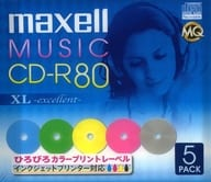 Hitachi Maxell CD-R XL EXCELLENT 700MB for 80 minutes 5-piece pack [CDRA80WPM.1P5S]