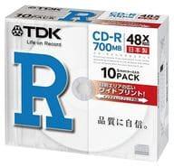 CD-R 48x 700MB 10-sheet pack for TDK data [CD-R80PWDX10B]
