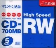 Imation CD-RW 700 mb 5 Pack [CDRW80HBWX5]