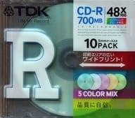 TDK Data CD-R 700 mb 10 Pack [CD-R80CPMX10B]