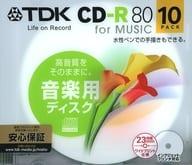 TDK Music CD-R80 for music 10 Pack [CD-RM80PWX10B-BC]