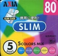 MDrecording MD5 COLORS MIX SLIM 80 min 5 DISKS [MD SLB M80 x 5P C]