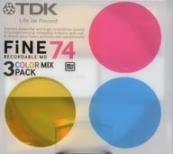 TDK Recording Mini Disk FiNE 74 min 3 pack [MD-FN74MAX3A]
